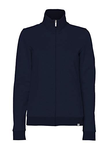 CARE OF by PUMA Damen-Fleecejacke mit durchgehendem Reißverschluss, Blau (Blue), 38 (Herstellergröße: Medium)