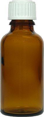 Spinnrad Apothekerflasche braun 50 ml mit Verschluss