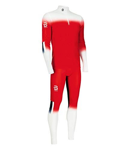 Daehlie Racesuit Seefeld 2-Piece - Norwegian Flag