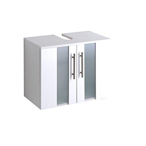 Waschbeckenunterschrank Miami, Held, weiß (60 cm breit)