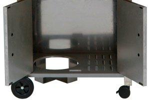 bbq toro profi edelstahl gasgrill spar set mit emaillierter gusseisen grillplatte edelstahl. Black Bedroom Furniture Sets. Home Design Ideas
