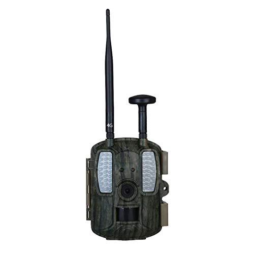 JUILARY-Cameras Cámara De Caza 4G con GPS 12 Millones De Alta Definición A Prueba De Agua Al Aire Libre Control Remoto Infrarrojos Visión Nocturna De Detección De Movimiento Bosque Al Aire Libre