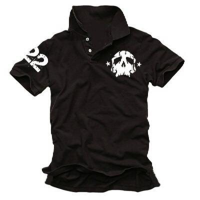 Coole-Fun-T-Shirts - skull 22, Polo da donna, nero (black), XL