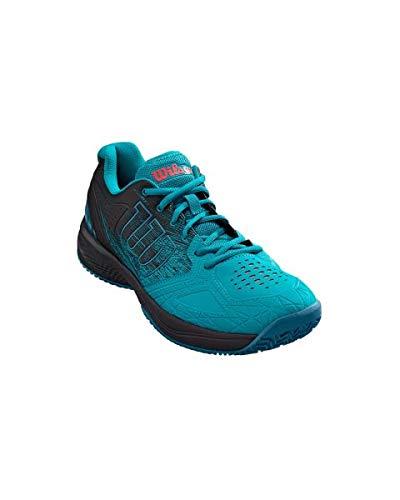 Wilson Kaos Comp 2.0 - Scarpe da Tennis Uomo, Blu (Capri Breeze/Black/Bluestone Capri Breeze/Black/Bluestone), 43 1/3 EU