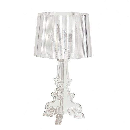 Lampada Kartell Bourgie cristallo trasparente design barocco