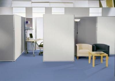 Acrylglas-Trennwand - glasklar 650 x 1300 mm - Absperrung Akustikwand Akustikwände Paneele zur Raumtrennung Raumteilung Raumtrennwand Raumtrennwände Schallschutzwand Schallschutzwände Stellwand Systemtrennwand Trennwandsystem Paneel zur Raumtrennung