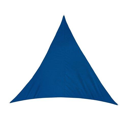 Jarolift Sonnensegel Dreieck wasserabweisend, 300 x 300 x 300 cm, azurblau
