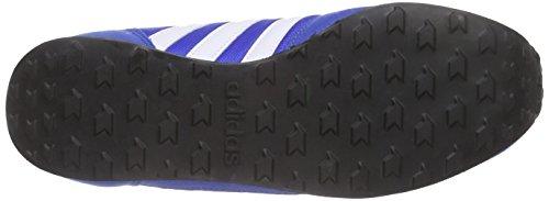 adidas Neo City Racer, Chaussures de Running Compétition Homme, Gris Bleu / Blanc / Noir (Bleu / Ftwbla / Maruni)