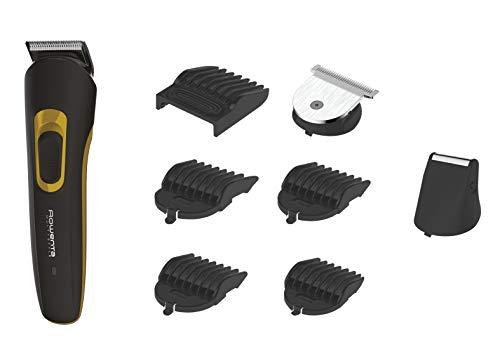 Rowenta Multistyler 8 en 1 Basic TN8940F0 -  Cortapelos y barbero profesional con 60 min de autonomía, 8 accesorios de corte y fácil limpieza