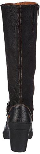 Damen Schwarz Stiefel Art black 396 aZqnxxW1w