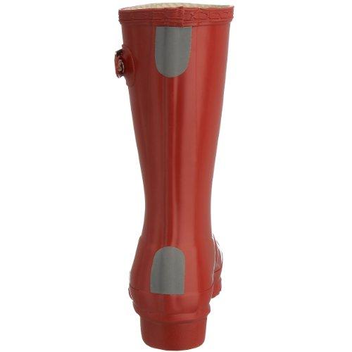 Hunters Original W23500 Unisex-Kinder Gummistiefel Rot (Red)