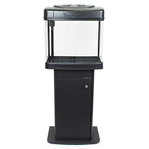 Pet's Solution Acquario Completo Filtro Illuminazione Mobile di Supporto