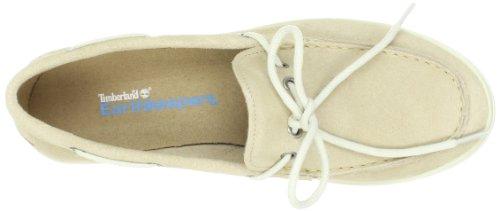 Timberland Casco Bay FTW_EK Casco Bay Boat Shoe, Mocassins (loafers) femme Beige - Beige