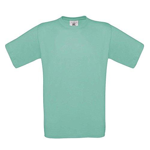 B&C - T-Shirt 'Exact 190' Pixel Turquoise