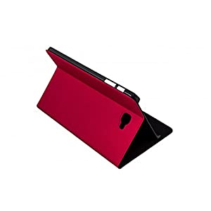 SilverHT 111936040199 10.1 Folio Case – Case for web tablet (Folio Red for Web Tablet – Polyurethane – red Samsung Galaxy Tab 10.1; Dust resistant; Scratch resistant)
