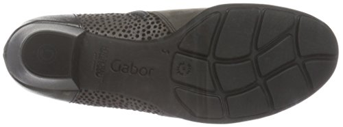 Gabor Shoes 55.635 Damen Kurzschaft Stiefel Grau (anthrazit/zinn(Micr 19)