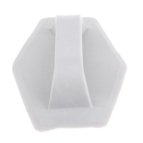 Kunststoff Tragegriff Griffe Gurtband Kayak Kanu Handle - Weiß -