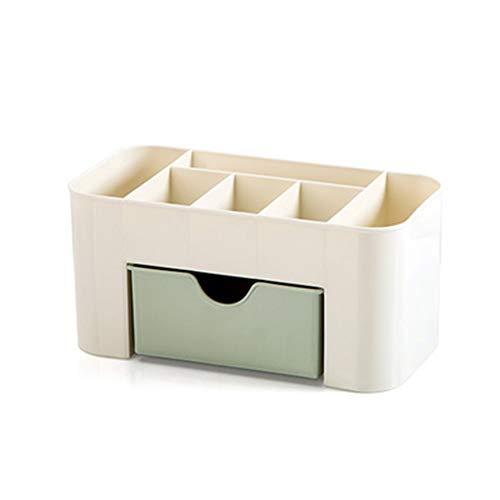 Julyfun Kosmetische Make-up Veranstalter Display Tisch Desktop Storage Stand, Make-up Schublade Typ Aufbewahrungsbox Fall Halter Pinsel Stift Schmuck Veranstalter platzsparend -