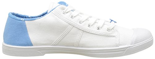 Le Temps des Cerises Damen Basic 02 Slide Flach, Large Blanc (Slide Blue)