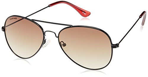 Fastrack Gradient Aviator Unisex Sunglasses (M139BR1F|Brown)