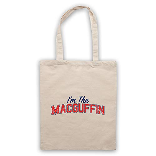 My Icon Art & Clothing I'm The Macguffin Funny Plot Device Slogan Umhangetaschen, Naturlich -