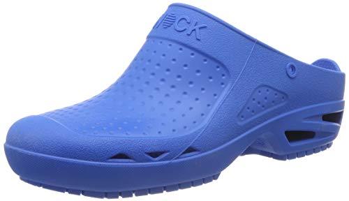 WOCK Bloc Or, Zuecos Unisex Adulto, Azul (Medium Blue 4521310-46/47), 38 EU