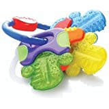 enfant jeu Nuby Icybite Hard/Soft Teething Keys with Multiple Teething Surfaces And Strengthening of New Teeth jouet joujou