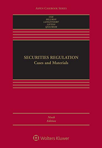 Securities Regulation: Cases and Materials (Aspen Casebook Series) (English Edition)