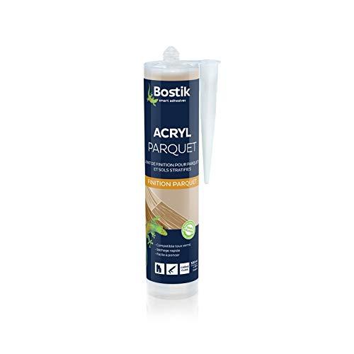 Bostik Joint Parquet, Mastic acrylique, Coloris HÊTRE CLAIR - Cartouche 300 ml