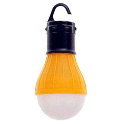 Zhuotop Zeltlampe, Outdoor-LED-Lampe, Camping-Hängelicht, Angel-Laterne, wasserdichte Notfalllampe, Orange