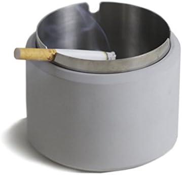 JJJJD Posacenere Antivento Americano della Sigaretta di Stile del Industriale Americano del Stile posacenere del Cemento (Coloreee   A) 6f0398