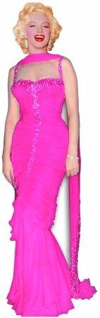 n sc272Marilyn Monroe Pink Abendkleid Karton Ständer UPS ()