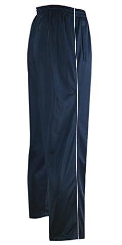 Glänzende Sporthose Herren Freizeit- Jogginghose in Kurzgrößen-Dunkelblau-4XL