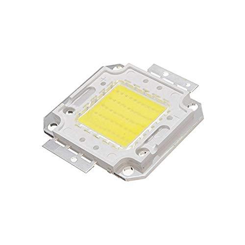 lujiaoshout 50W LED Haute Puissance Chip DIY Ampoule Lampe Chip 3800LM 6500K DC32-34v (Blanc)