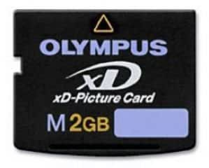 Olympus M-xD 2GB Picture Card, with 3D Glasses