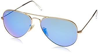 Ray-Ban Unisex RB3025 Aviator Sunglasses 58mm: Amazon.co