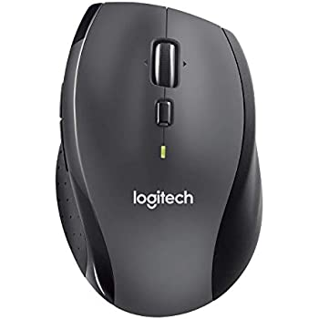 125295078f0 Logitech M705 Wireless Mouse for Windows, Mac, Chrome for Laptop and  Computer - Black (Renewed)
