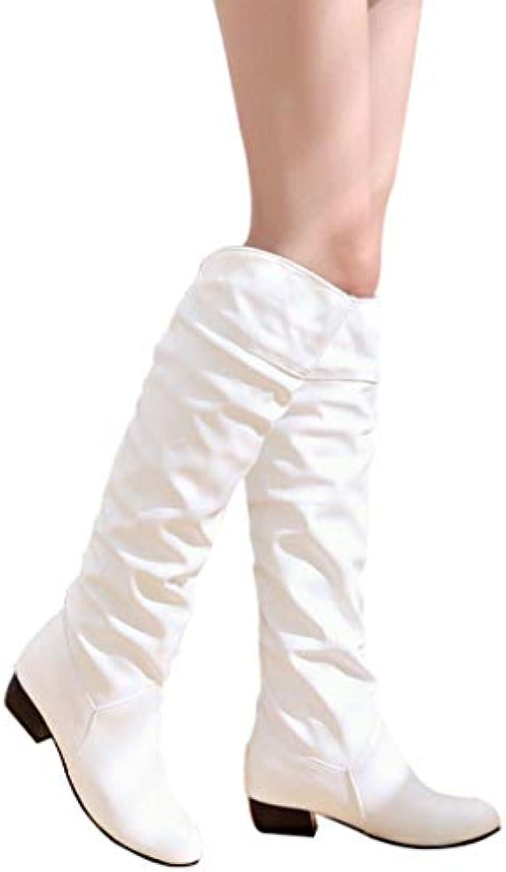 MYXUA Caricamenti Del Sistema Caldi Di Grande Formato Di Cuoio Di Inverno Delle Donne   Di Modo Attraente    Uomo/Donna Scarpa