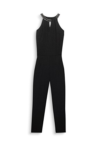 ESPRIT Collection Damen Jumpsuit 127EO1L002, Schwarz (Black 001), 40 - 3