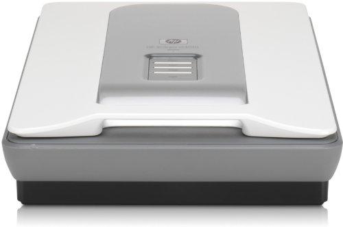 HP Scanjet G4010 Flachbett-Fotoscanner (4.800 x 9.600 dpi, USB, integrierte Durchlichteinheit)