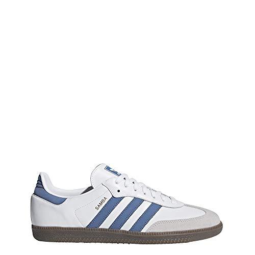 adidas Herren Samba Og Derbys, Mehrfarbig (White Ftwwht/Traroy/Crywht), 40 EU