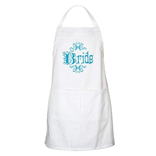 CafePress-Blau Fancy Braut Grillschürze-Küche Schürze mit Taschen, Grillen Schürze, Backen Schürze weiß -