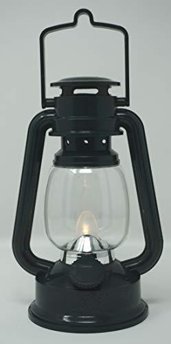 CBK-MS. LED warmweis flackernd Dekoleuchte grün Sturmlaterne Batteriebetrieb Dekolampe für den Wohnbereich