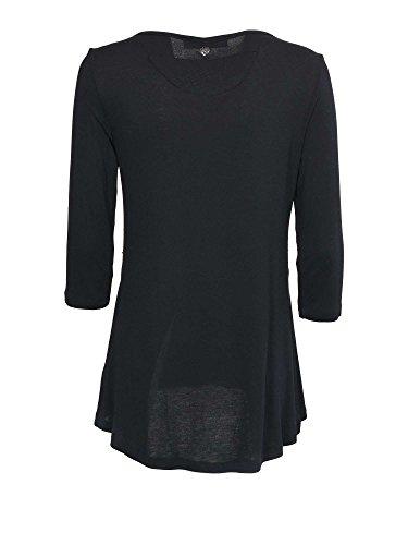 Cafenoir JT005 T-shirt Femmes Noir