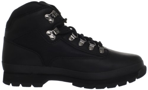 Timber Euro-Boot Black Smooth