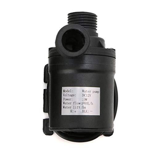Lidahaotin 800L / H 5m DC 12V / 24V Sonnen Brushless Motor Wasserzirkulationswasserpumpe Submersibles Wasserpumpen #1