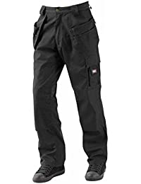 Men's Lee Cooper LCPNT216 Holster Pockets Trouser Work Trousers Knee Pad Pockets
