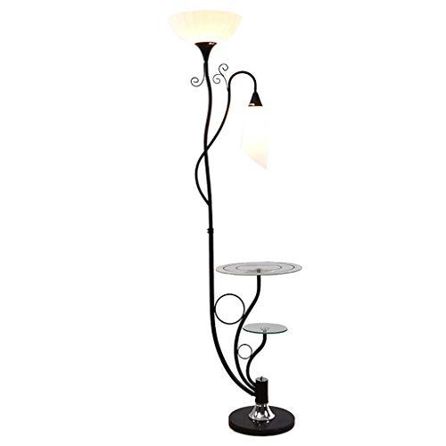 Defeng Stehleuchte Einfache Wohnzimmer Lagerung Tisch Couchtisch Baum Rebe Blume Vertikale Tischlampe (Baum Lagerung)