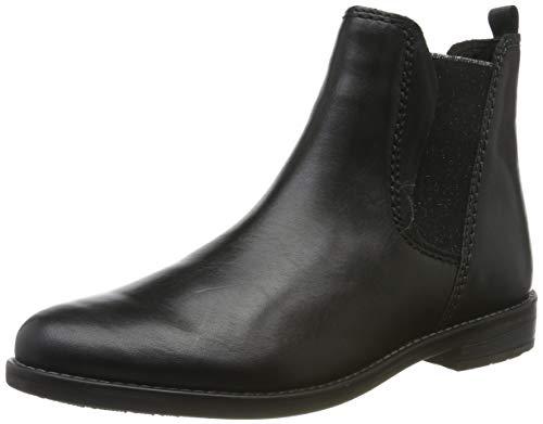 MARCO TOZZI Damen 2-2-25366-33 Chelsea Boots, Schwarz (Black Antic 002), 39 EU