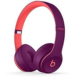 Casque Beats Solo3 sans fil - Collection Beats Pop - Mauve Pop